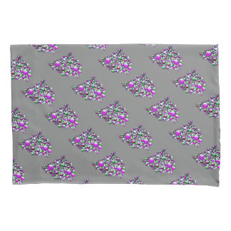Join - pillow case colorful bubbles flying pattern