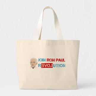 Join Ron Paul revolution Tote Bag