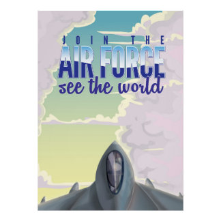Join the Air Force Poster