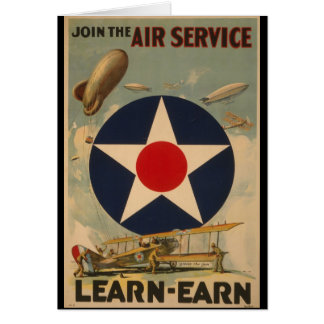 Join The Air Service Card