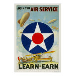 Join the Air Service Poster