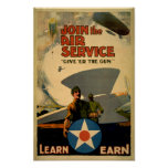 Join the Air Service Posters