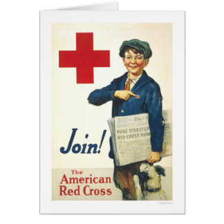 Join! The American Red Cross Greeting Card