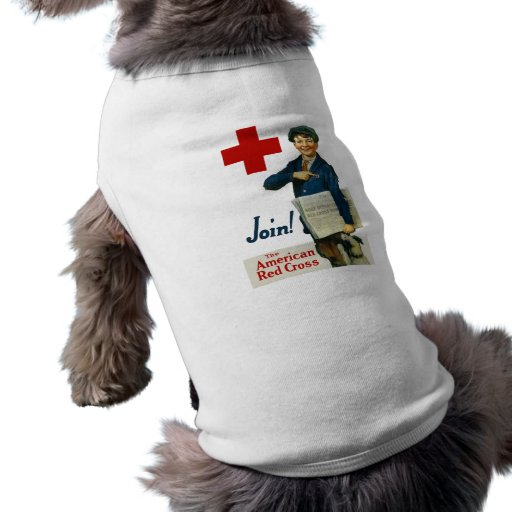 Join The American Red Cross Doggie Shirt
