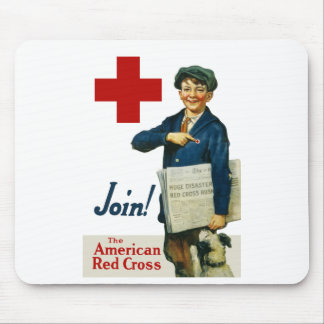 Join The American Red Cross Mousepad