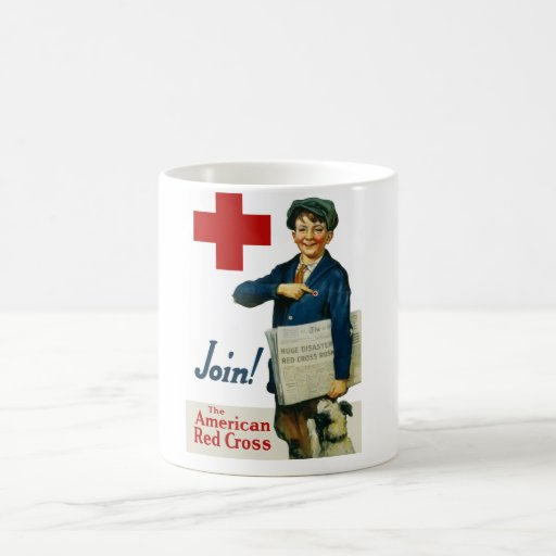 Join The American Red Cross Mugs