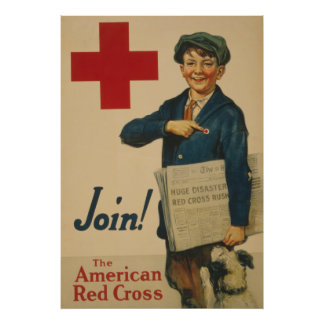 Join the American Red Cross Poster