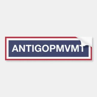 Join The Anti-GOP Movement! Bumper Sticker