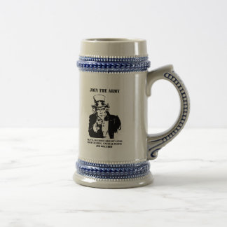 Join The Army 18 Oz Beer Stein