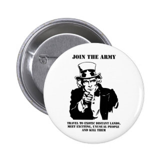 Join The Army 6 Cm Round Badge