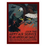 Join the Army Air Service Print