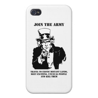 Join The Army Cover For iPhone 4