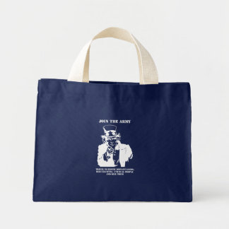 Join The Army Mini Tote Bag