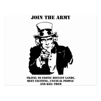 Join The Army Postcard