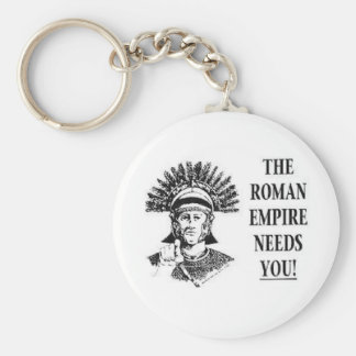 Join the Army - Roman Empire Basic Round Button Key Ring