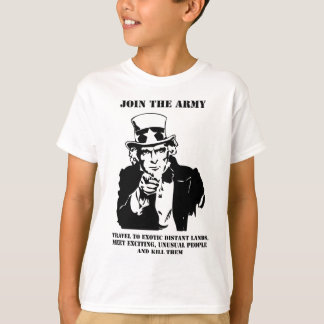 Join The Army Tee Shirt