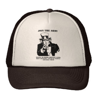 Join The Army Trucker Hat
