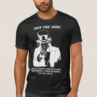 Join The Army Tshirt