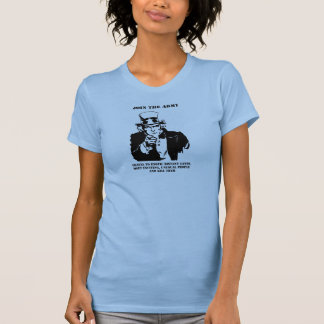 Join The Army Tshirts