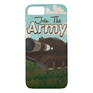 Join the Army Vintage Poster iPhone 7 Case