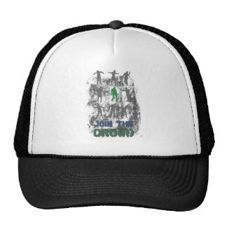 Join The Crowd Zombie Dead Skull Cap