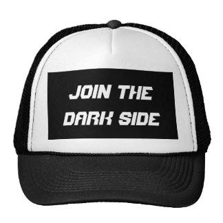 Join the dark side mesh hats