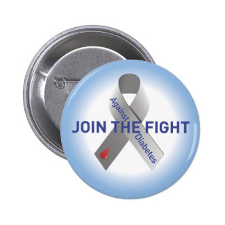 "Join the Fight-Button-No ""like"" 6 Cm Round Badge"