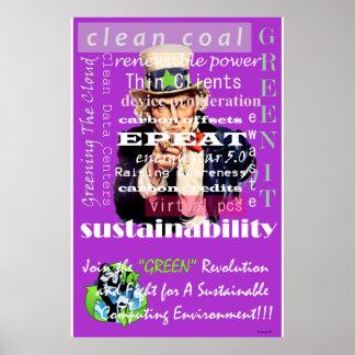 Join The Green Revolution Poster