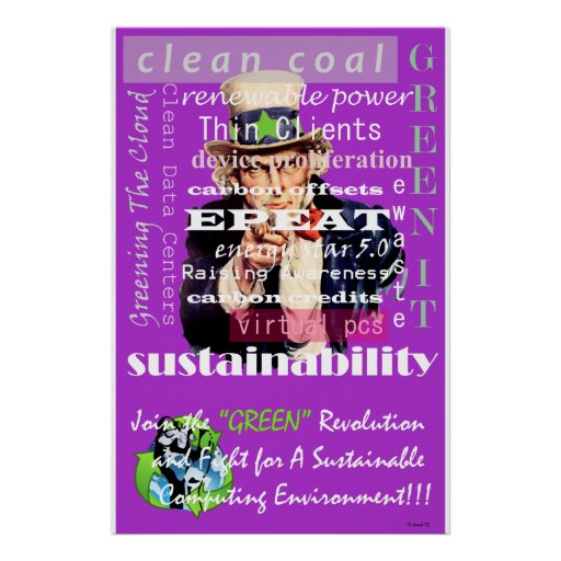 Join The Green Revolution Posters