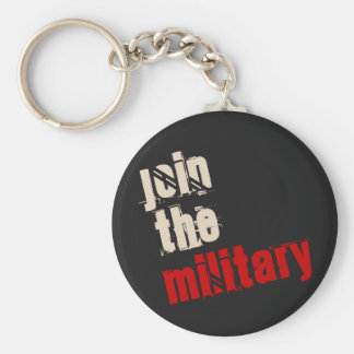 Join the Military Keychain