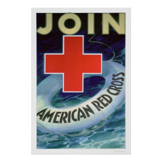 Join the Red Cross - Life Saver (US00293) Poster