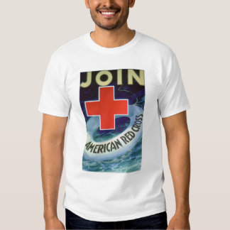 Join the Red Cross - Life Saver (US00293) T Shirt