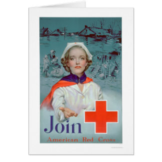 Join the Red Cross - Nurse (US00306) Card