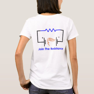 Join The Resistance2-side t-shirt (F)