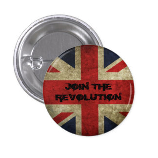 Join The Revolution - Old Union Flag Badge