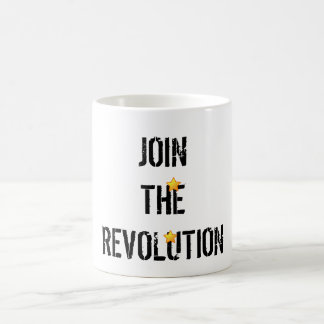 Join The Revolution White Mug