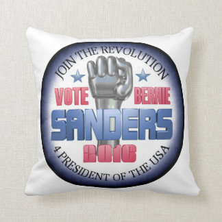 Join the Revolution with Bernie Sanders Cushion
