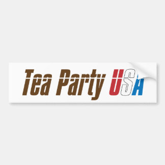 Join the Tea Party USA! Bumper Sticker