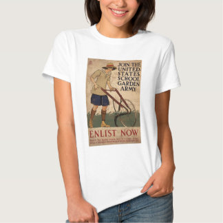 Join The United States School Garden Army Tshirt