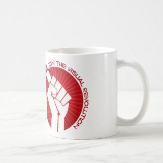 Join the visual revolution basic white mug