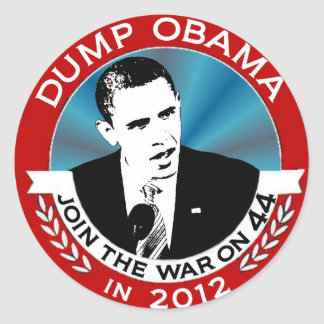 Join the War on 44 Round Sticker