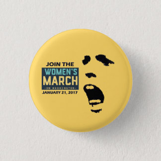 Join the Women's March 3 Cm Round Badge