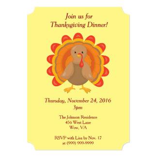 Join us for Thanksgiving Dinner Card