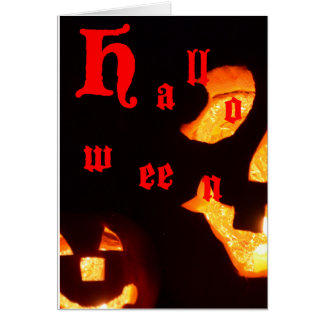 Join us for Trick-or-Treating Halloween card