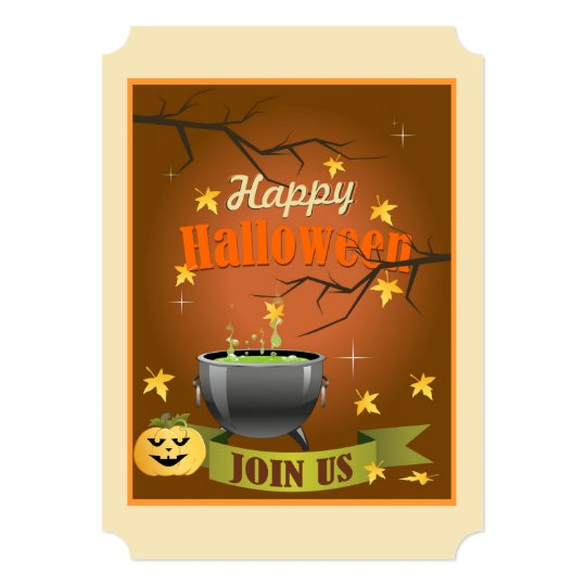 Join Us! Halloween Party Invitations