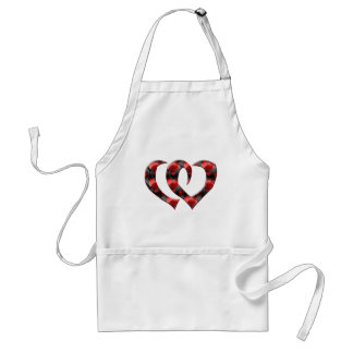 Joined Hearts T-shirts and Gifts Standard Apron