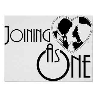 Joining As One Poster