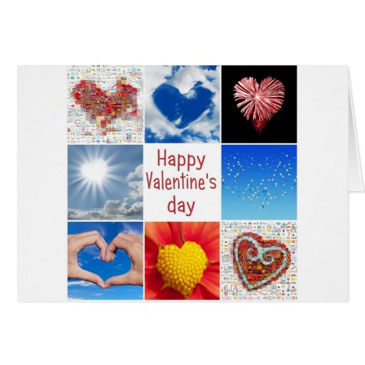 """Joining heart """"Happy Valentine' S day """" Cards"""