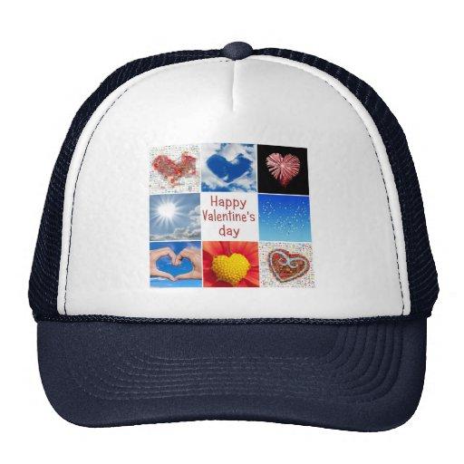 "Joining heart ""Happy Valentine' S day "" Trucker Hat"