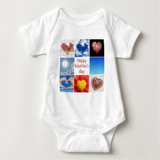 """Joining heart """"Happy Valentine' S day """" T Shirt"""